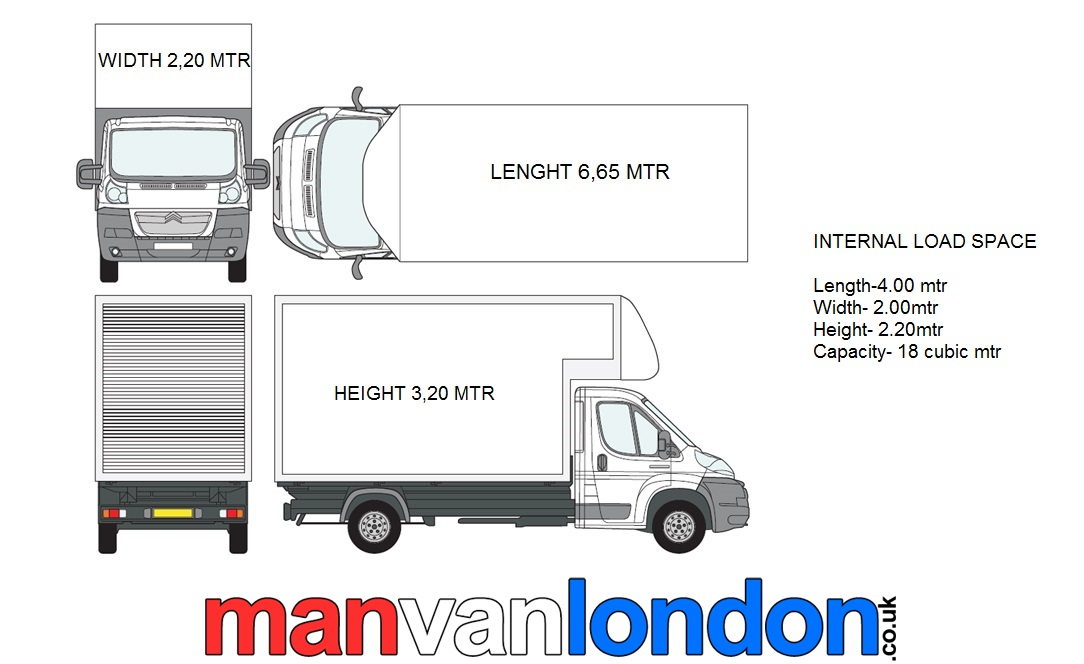 Man Van London Our Fleet
